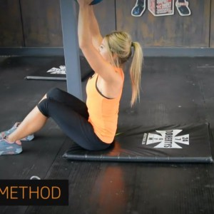 Overhead Weighted situps