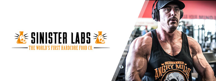 Sinister Labs Snacks and  Supplements