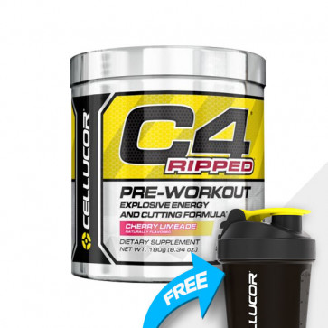 Cellucor - C4 Ripped with free Cellucor SmartShake  SHAKER