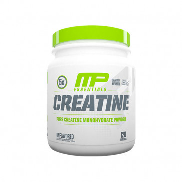 unflavoured pack of Muscle Pharm - Essentials Creatine for 120 serves