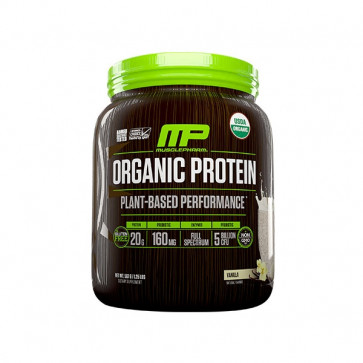 Muscle Pharm - Organic Protein for 15 serves with a chocolate  flavour