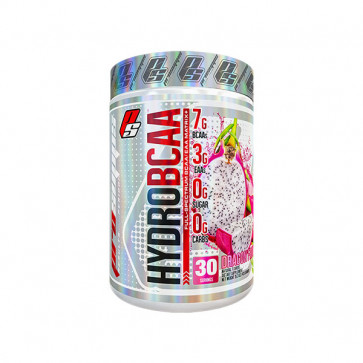 30 serve tub of Pro Supps - HYDRO BCAA  with dragon fruit flavour