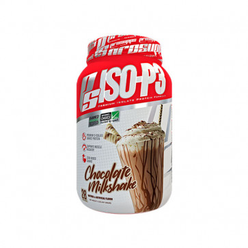 Pro Supps - ISO-P3 2LB(910g) with chocolate milkshake flavour
