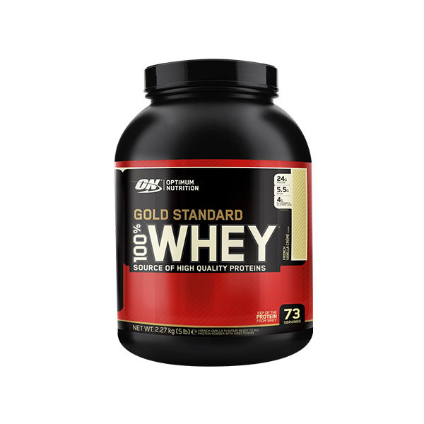 1330200f0 pack of Optimum Nutrition - Gold Standard 100% Whey 5LBS (2.3kg) for