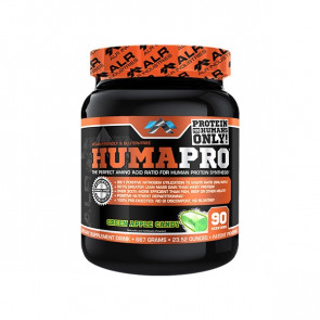 pack of ALR Industries - HumaPro for 90 serves with green apple candy flavour