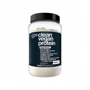 1.0 KG pack of Body Science - Clean Vegan Protein with vanilla flavour