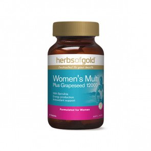 Herbs Of Gold - Women's Multi Plus Grapeseed 12000