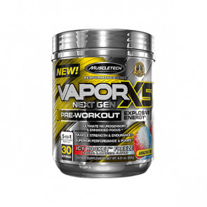Muscletech - VAPOR X5 NEXT GEN pack for 30 serves with fruit punch flavour