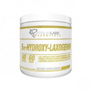 unflavoured pack of Platinum Labs - Essentials - 5a Hydroxy-Laxogenin for 60 serves