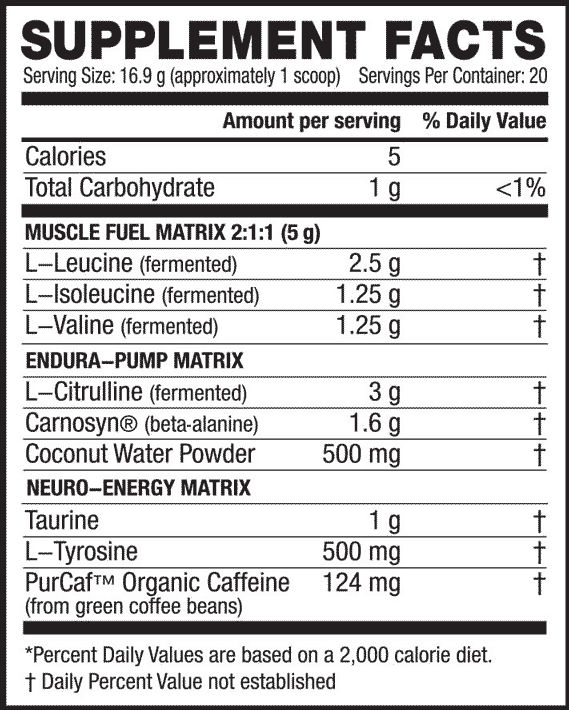 Nutritional Info about Kaged Muscle - In-Kaged